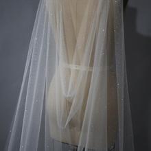 Cape Veil, Long Veil, Sparkle Veil, Glitter Veil, Shiny Veil, Cathedral Veil, Wedding Veil, Bridal Veil, Custom size