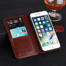 Luxury Leather Case for LG L Bello 2 II / Prime II Max X155 X150 Original Phone Cover Flip Stand Capa Coque Pouch(China)