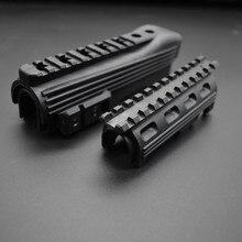 Охотничий Тактический Страйкбол AK 74 приемник Верхняя Нижняя крышка крепление серии Strikeforce Handguard винтовка Shoot Weaver Rail Monut