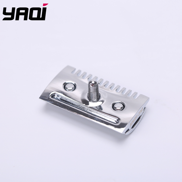 """""""The """"FLIPSIDE by Yaqi"""" A Dual Comb Dual Aggression Level Razor Head In Chrome 2"""