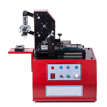 Scraper Type Ink Pad Printing Machine TDY-380 Electric Production Date Coding Machine Imitation Inkjet Printer 220v desktop electric pad printer machine printing machine for product date small logo print cliche plate rubber pad