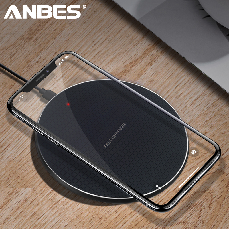 Wireless-Charger Usb-Phone Fast-Charging Qi S9-Plus Samsung 5W No for X Xs Max-Xr Note