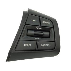 Image 1 - הגה בקרת שיוט כפתור מתג עבור יונדאי Creta Ix25 1.6L 2.0L שלט רחוק נפח כפתור צד ימין כחול אור