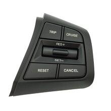 Przycisk sterujący tempomatem kierownicy dla Hyundai Creta Ix25 1.6L 2.0L przycisk głośności pilota prawa strona niebieskie światło