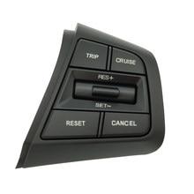 Interruptor de botón de Control de crucero para volante de Hyundai, botón de Control remoto de volumen, luz azul, lado derecho, para Hyundai Creta Ix25 1.6L 2.0L