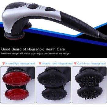 High Quality Intelligent Cervical Spine Back Body Massager Stick Hot Compress Multifunctional Body Massage Tool  For Parents Gif