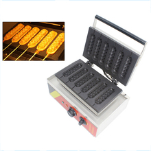 цена на ITOP Electric Waffle Maker French Hot Dog Machine Non-stick Iron Material Muffin Hot Dog Machine 110-240V Baking Oven