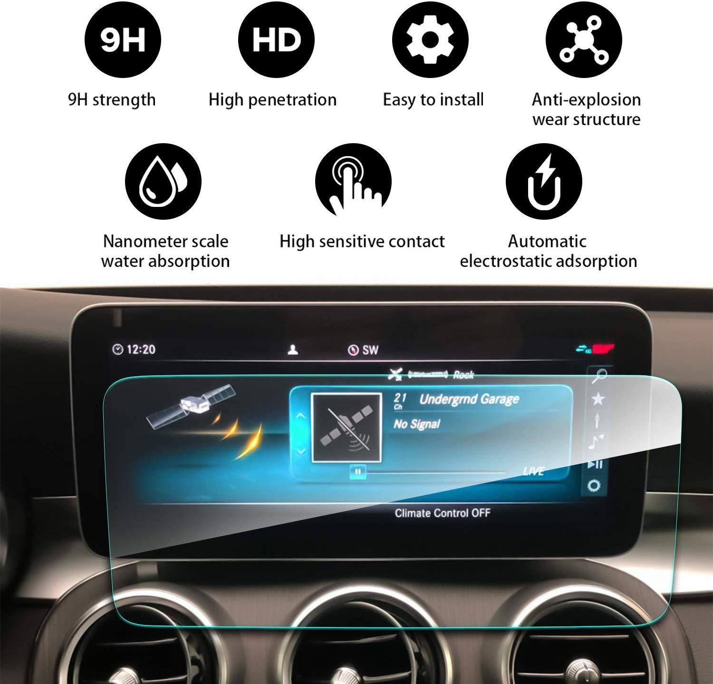Для Mercedes Benz C-Class W205 2019 10,25 дюймов навигационный экран пленка Высокая чувствительность протектор экрана