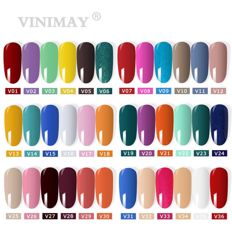 VINIMAY 96 ל צבע Gelpolish ג 'ל Varnis Gellak לכה פריימר סט משרים Off opies ג אמנות סלון 15ML