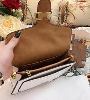 hiboom 2020 women message bag split leather shoulder bags for lady