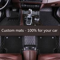 ZRCGL universal Car floor mat for Luxgen all models Luxgen 7 5 U5 SUV car accessories auto styling