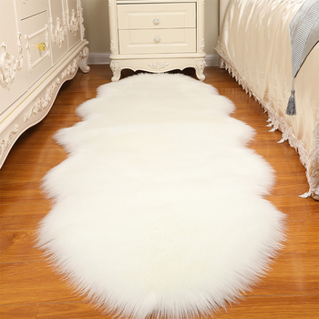 Sheepskin Carpet Faux Warm Carpets Floor Mat Pad Skin Fur Rugs Soft Rugs Home Living Room Bedroom Floor Mats Faux Fur Carpet @ cleanhome carpet floor sweeper cleaner for home office carpets rugs undercoat carpets dust scraps paper cleaning with brush