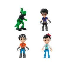 4 pçs/set Ben 10 PVC Figura de Ação Ben Tennyson Quatro braços Cinza Importa Kineceleran Diamondhead Heatblast Crianças Brinquedos Presentes
