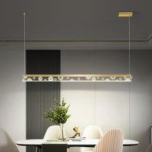 Criativo lustre de LED Cozinha luzes Do Escritório acrílico + do metal de suspensão suspensão lustre moderno lustre moderno para dinningroom
