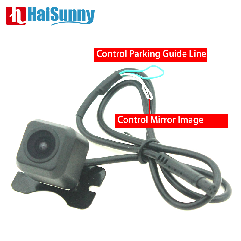 Mini HD Night Vision Car Rear View Camera Wide View Front Camera Front View Side Reversing Backup Camera No Parking Guide Line