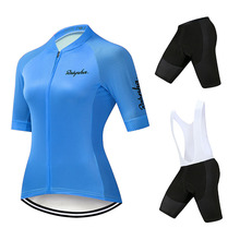 Pro Women Cycling Sets Female Bicycle Clothes Bib Shorts Pants Pad MTB Clothing Kit Ropa Ciclismo Girls Shirts Road Bike Jerseys цена