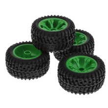 4 Lot Wltoys 12428-B 1/12 Upgrade Large Size Tyres Accessory 110mm Dia