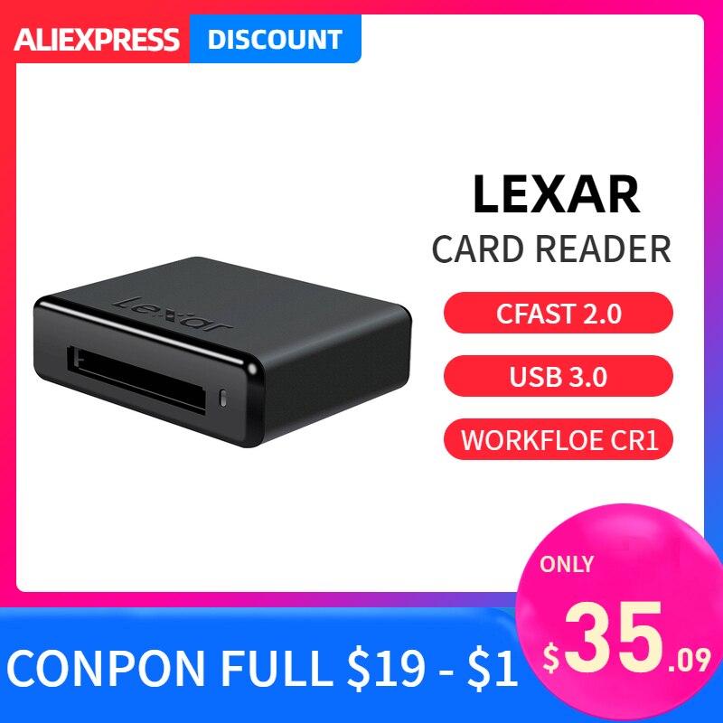 Lexar CF lecteur de carte à puce Usb 3.0 CR1 CFast 2.0 ligne de flux de travail professionnel Okuyucu de produits accessoire pour ordinateur portable pour appareil photo