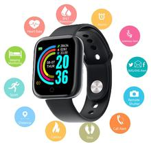 UGUMO Bluetooth Smart Watch Waterproof SmartWatch Heart Rate Monitor Smart Band Android Fitness Tracker Bracelet for Men Women