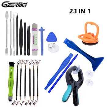 GZERMA Smartphones Repair Tool Sets Mobile Phone Repair Tools 23 IN 1 With Screwdriver Kit For Iphone Cellphone Cell Phones