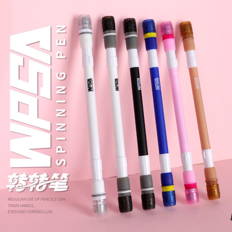 Zhigao caneta girando mod não deslizamento fosco titular esferográfica revestido canetas material escolar canetas estacionárias para escrever