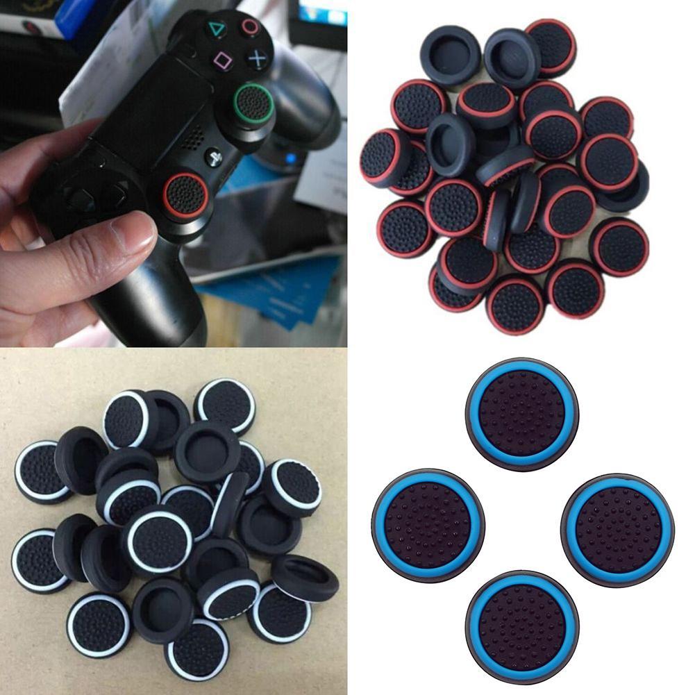 4 pièces contrôleur pouce Silicone bâton poignée capuchon couverture pour PS3 PS4 PS5 XBOX one/360/série x Switch Pro contrôleurs accessoire de jeu