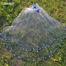 Lawaia Line Fishing Net Landing Iron Pendant Fly Fish Network Vintage Large 7.2m Cast Small Mesh