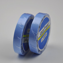 0.8cm*3yards Blue Lace Front Double-sided Adhesive Water-proof Super Tape For h air E xtension/Lace Wig/h a irpiece/Toupee цена