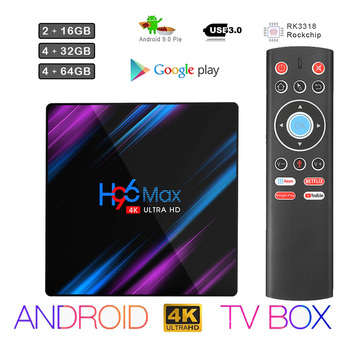 max 3g ram 32g rom android tv box h96 pro plus s912 android 7 1 tv box h96 3g 32g wifi h 265 4k media player keyboard H96 max Android 10 TV BOX 2.4G&5.8G Wifi 32G 64G 4k 3D Bluetooth TV receiver Media player HDR+ High Qualty Very Fast Box