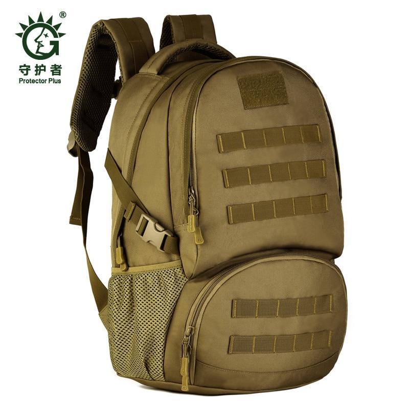 The-air sacs à dos 35l voyage Camping école ordinateur portable sacs de chasse multi-fonctionnel imperméable à l'eau Camouflage sac militaire en grand