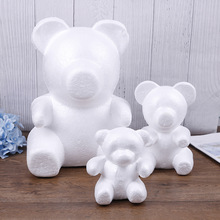 Crafts Foam-Gifts Polystyrene Styrofoam Bear-Foam Modeling Heart-Ball-Ornaments White