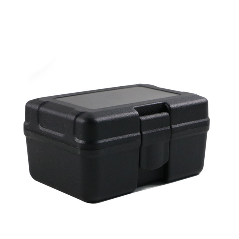 125x90x65mm Safety Protective Instrument Tool Box Shockproof Storage Toolbox  Suitcase Hardware Storage Tool Case With Sponge