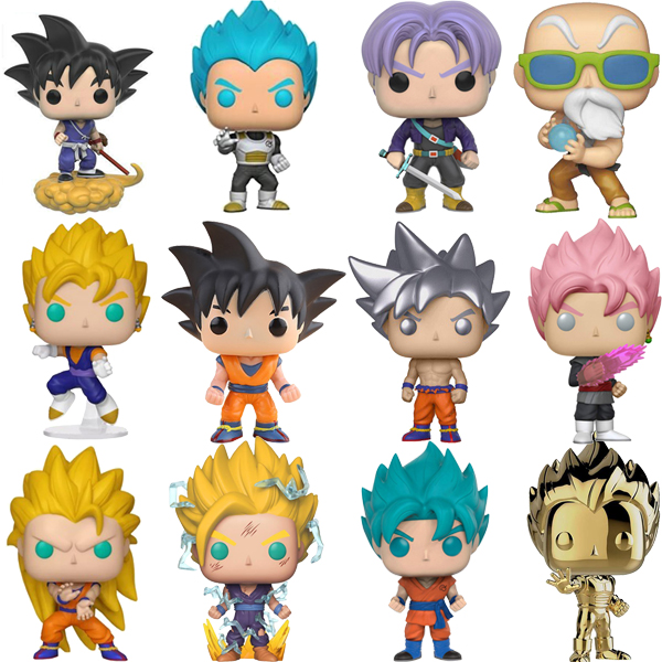 Funko POP Dragon Ball Super Saiyan Goku Vegeta FRIEZA GREAT Anime Figure Original PVC Action Figures Collectible Model Toys 2F62