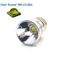 Lampe de poche en aluminium, réflecteur, 5 Modes, 26.5mm, 5A, Xlamp XM-L3 LED, 1600 Lumens, pour P60 P61 6P 9P M5 M6 501B 502B