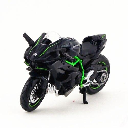 Kids Toy 1:18 Kawasaki H2R Motorcycle Maisto Diecast Model Vehicle Gift
