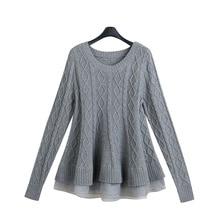 Свободные свитера для беременных; зимняя укороченная Одежда для беременных; плотная Толстовка для беременных; Рождественская трикотажная одежда с длинными рукавами