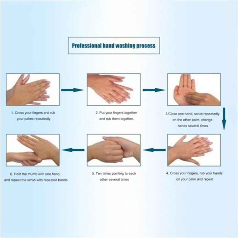 50ml Quick-drying Alcohol Disposable Hand Sanitizer Hands-Free Water Disinfecting Hand Wash Gel Hot Sale
