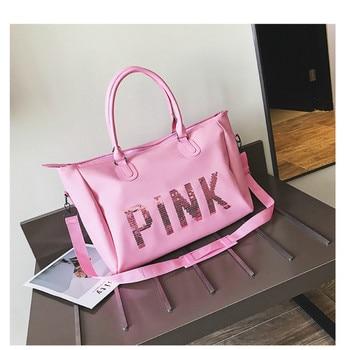 travel bag women's handbag bag men's large-capacity travel bag shoe seat fitness gym bag Japan and south Korea bag