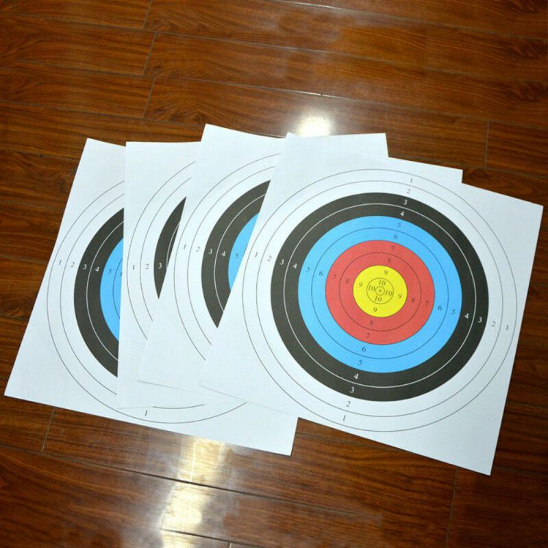 High-quality Outdoor Archery Target Paper Face Arrow Bow Shooting Hunting Shooting Training Tools
