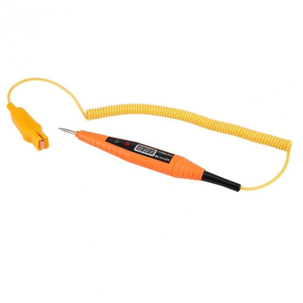 Automotive Circuit Repair Digital Display Electric Pen Repair Line Induction Test Pencil Car 2.5-32V