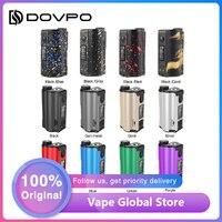 HOT Sale Original 200W DOVPO Topside Dual Top Fill TC Squonk MOD with 10ml Squonk Bottle E cig Vape Box Mod Vs Drag 2 / LUXE