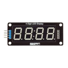 1pcs TM1637 4 Bits Digital LED Display Module For arduino 7 Segment 0.36Inch Clock RED Anode Tube Four Serial Driver Board Pack цена