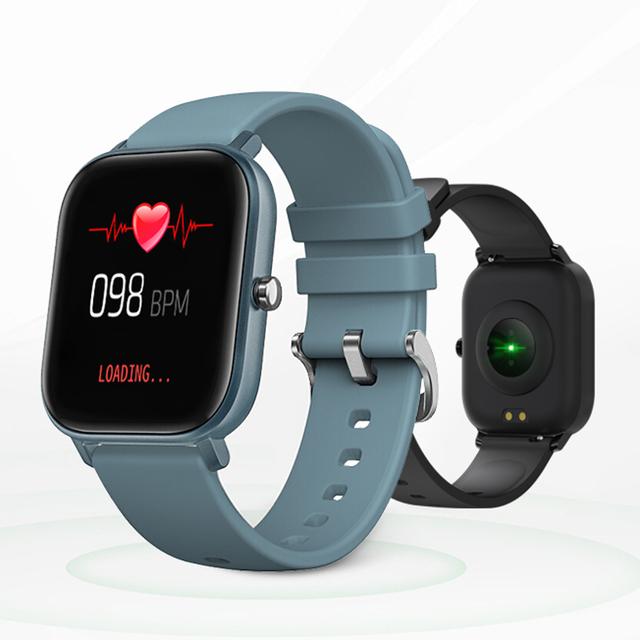 Reloj Inteligente Deportivo con Monitor de Ritmo Cardíaco