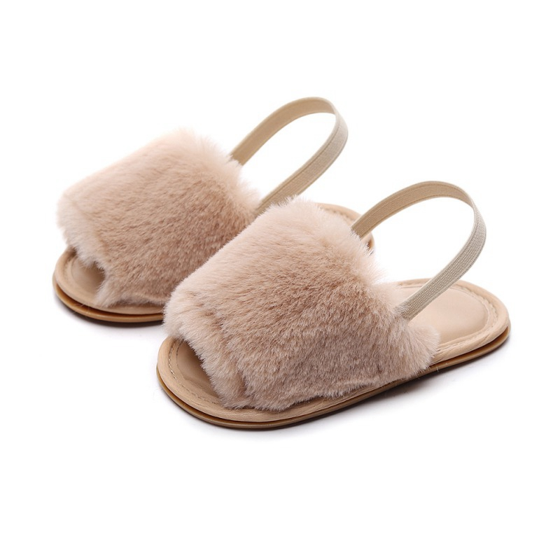2019 Toddler Baby Shoes Children Autumn Slippers Boys Girls Slip-proof Home Indoor Soft Soles Infant Cloth Shoes 0-24M