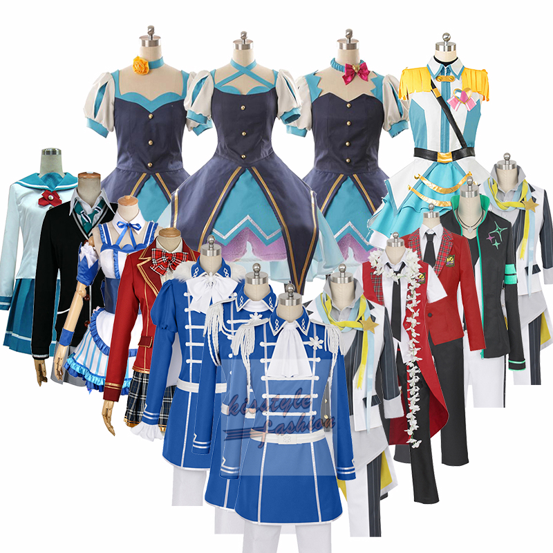 THE IDOLM CINDERELLA GIRLS Mio Honda Shibuya Riina Tada Shiki Chieri Ogata Characters Cosplay Costume,Customized Accepted