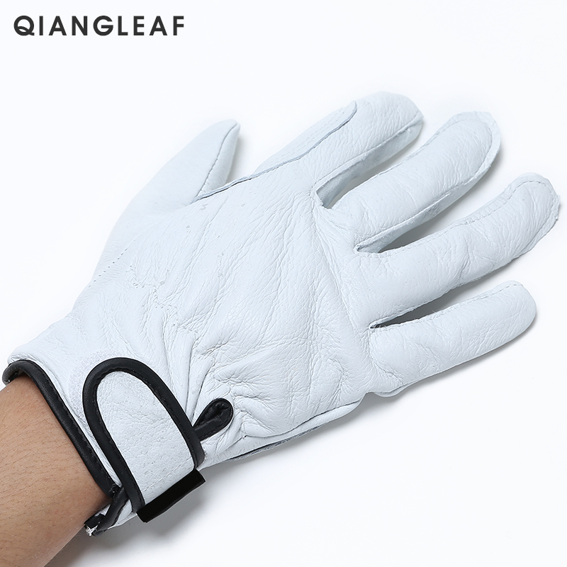 Image 2 - QIANGLEAF Brand Plus Cotton Warm Safety Working Gloves High Quality Mechanic Autumn Winter Mechanism Work Gloves For Workers H73work glovesmechanic work glovessafety work gloves -