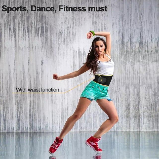 OUTAD Women Waist Trimmer Belt Neoprene Waist Sweat Band for Slimmer Water Weight Loss Mobile Sauna Belts Strengthen Tummy 1