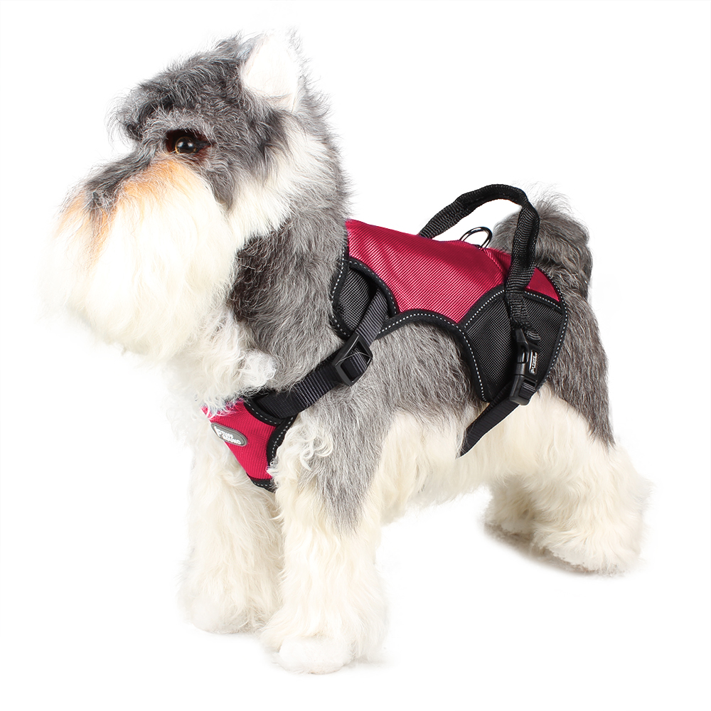 Купить с кэшбэком TUFF HOUND No Pull Dog Vest Harness Pressure-reducing and Shock-absorbent Harness Easy to control suit for Medium and Large Dog