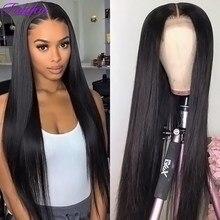 13x6 peruca dianteira do laço reto perucas transparentes brasileiras do laço 5x5 peruca do fechamento do laço 13x4 perucas frontais do laço para o cabelo humano feminino