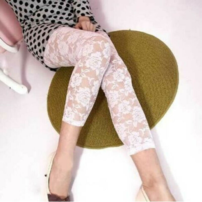 Sexy Women Ladies Full Length Printed Legging Jeggings Stretchy Pants Elastic Skinny Leggings Bikini Cover Up Beachwear